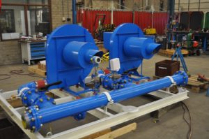Combustion And Cooling Air Skids De Jong