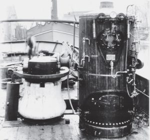 Development and manufacturing of donkey boilers